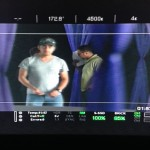 behind the scenes production - screen
