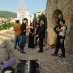 cast crew cello campaign dubai lebanon cella productions