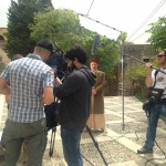 camera crew in action dubai lebanon