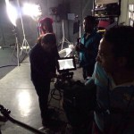 in action crew on set